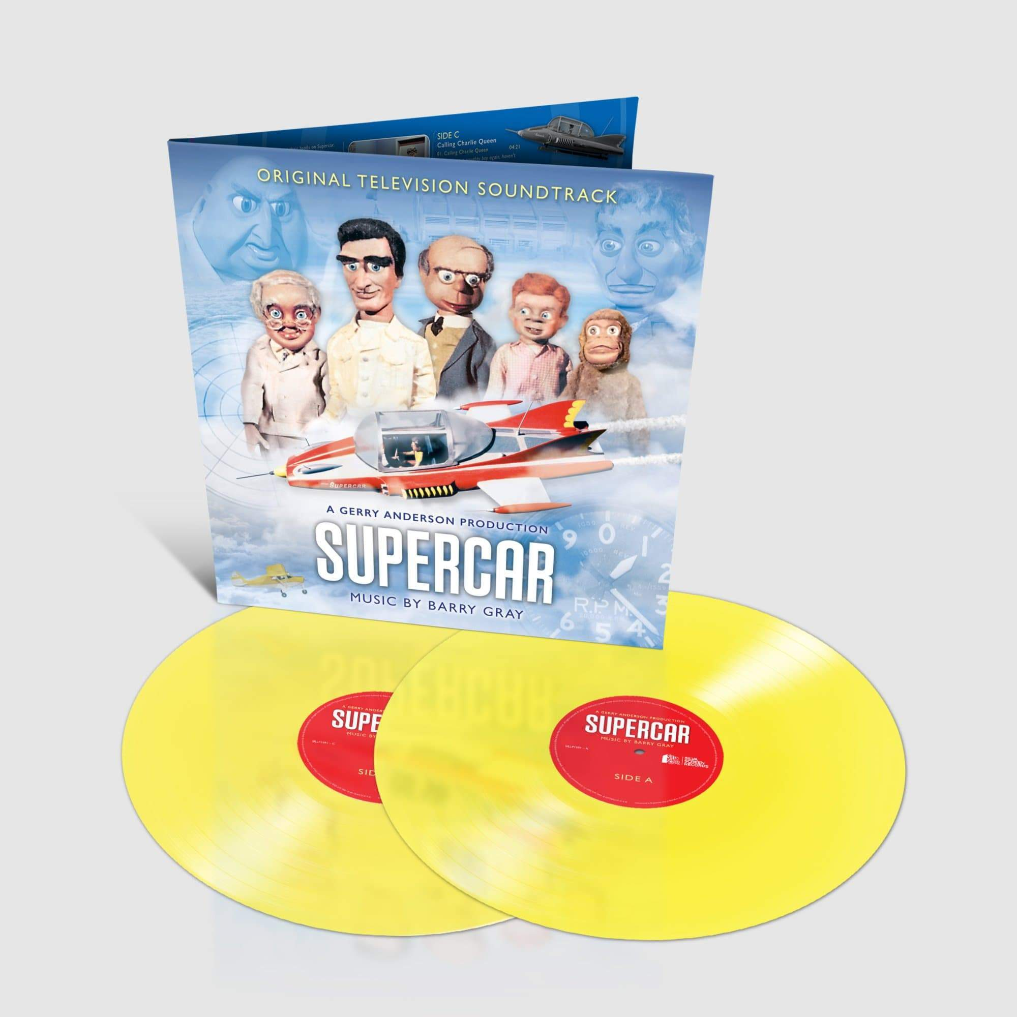 Supercar: Original TV Soundtrack: Limited Edition Coloured Vinyl (LP) - The Gerry Anderson Store
