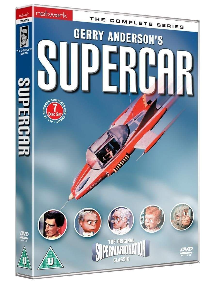 Supercar - The Complete Series [DVD](Region 0 PAL Release) - The Gerry Anderson Store