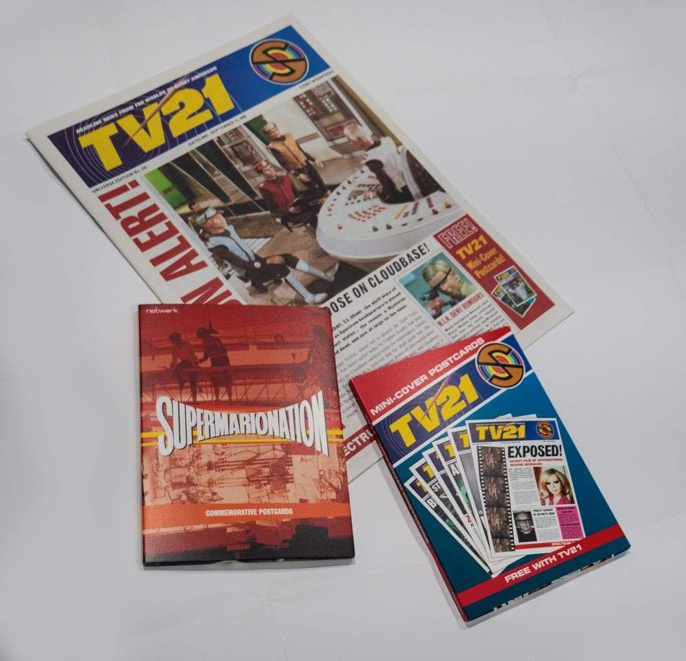 Supermarionation Nostalgic Postcards Set - The Gerry Anderson Store