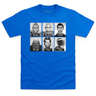 Suspects and Villains Kid's T-shirt [Official & Exclusive] - The Gerry Anderson Store