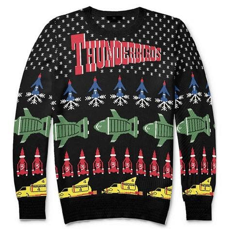 Thunderbirds Christmas Jumper/Sweater [Official & Exclusive]