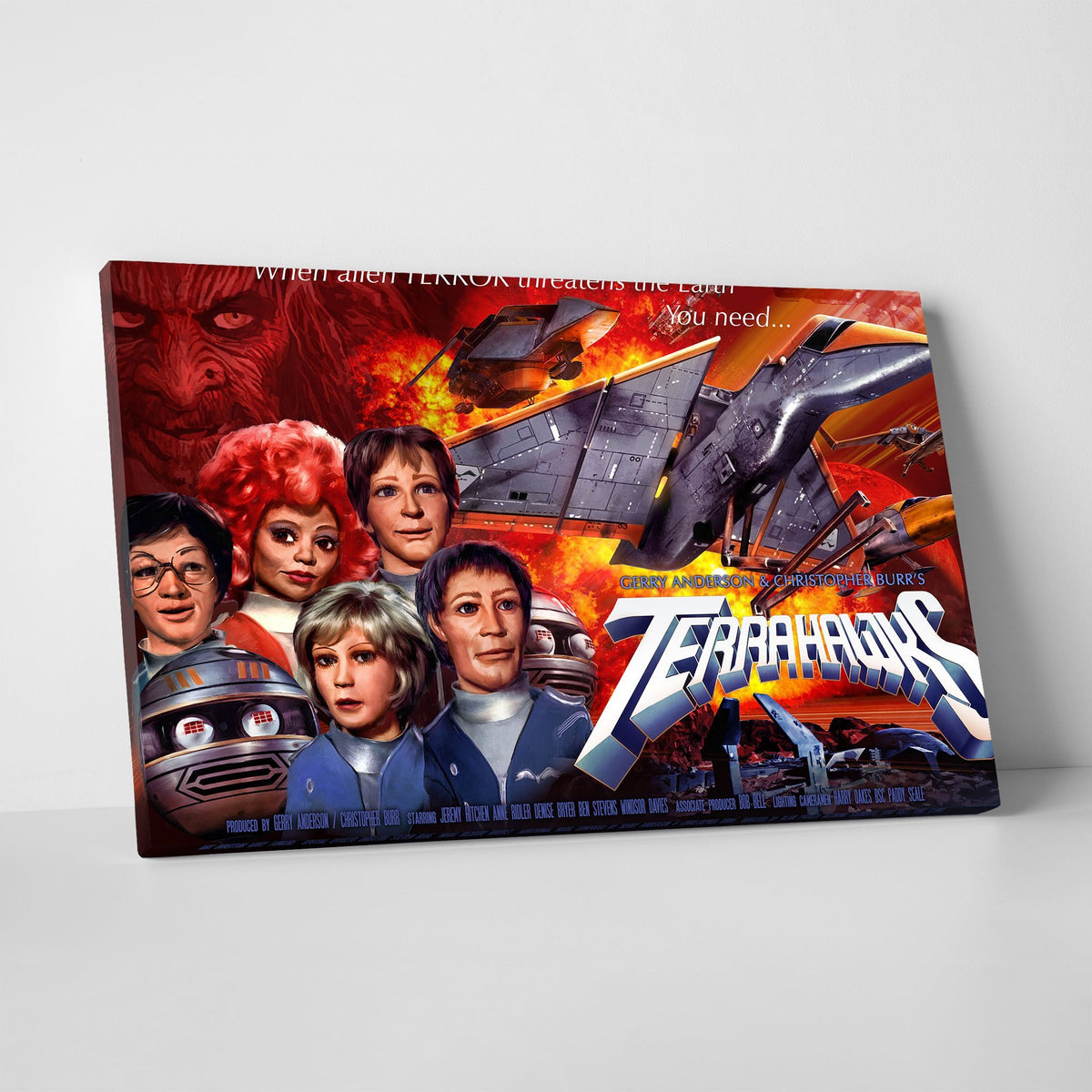Terrahawks Canvas Print [Official and Exclusive] - The Gerry Anderson Store