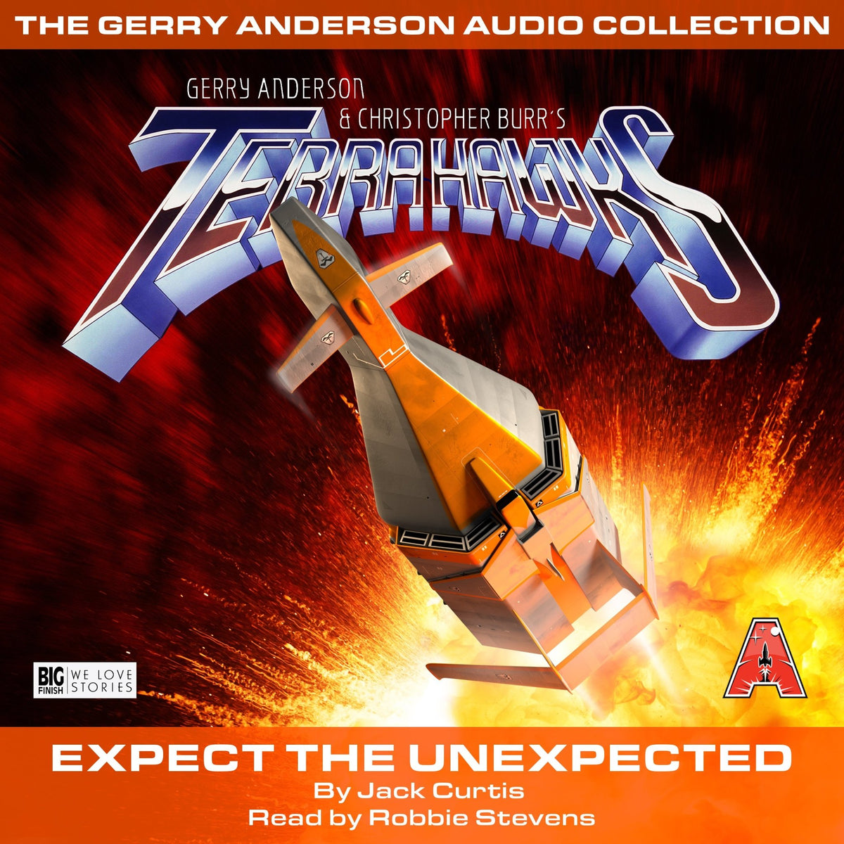 Terrahawks: Expect the Unexpected [AUDIOBOOK - DOWNLOAD] - The Gerry Anderson Store