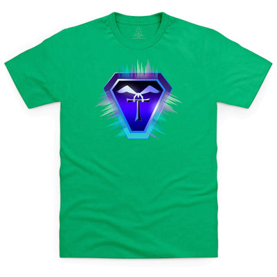 Terrahawks Neon Logo Kid's T-Shirt [Official & Exclusive] - The Gerry Anderson Store