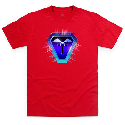 Terrahawks Neon Logo Men's T-Shirt [Official & Exclusive] - The Gerry Anderson Store