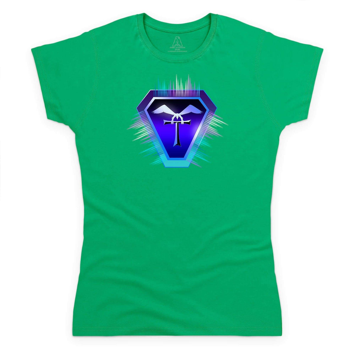 Terrahawks Neon Logo Women's T-Shirt [Official & Exclusive] - The Gerry Anderson Store
