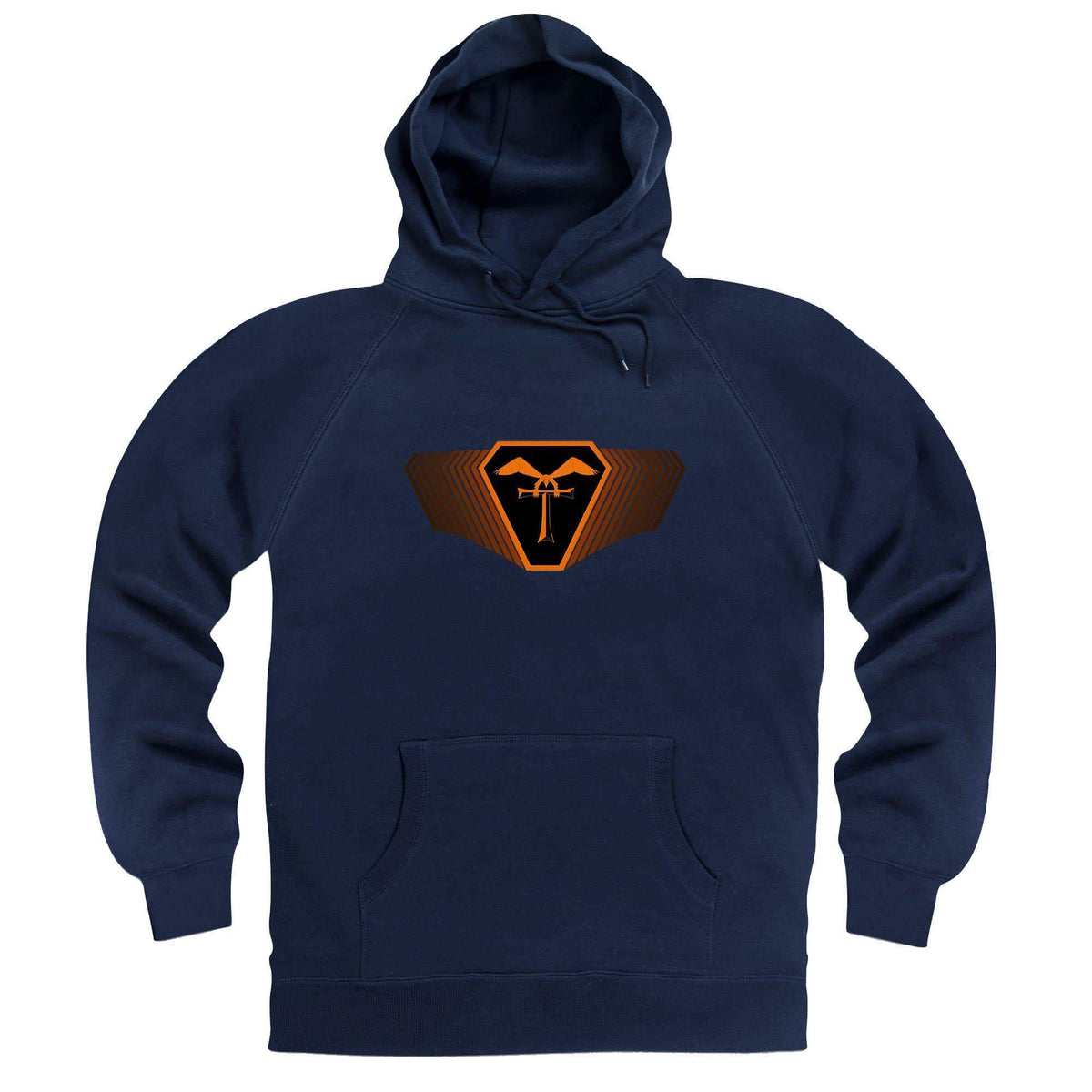Terrahawks Orange Emblem Hoodie [Official & Exclusive] - The Gerry Anderson Store