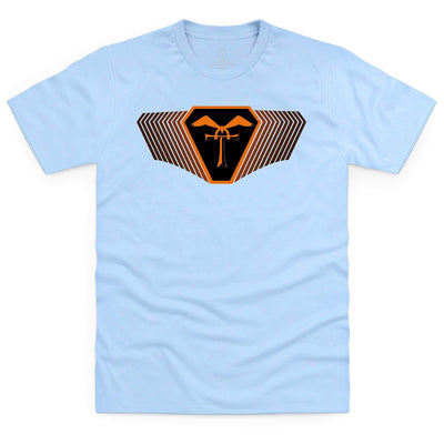 Terrahawks Orange Emblem Men's T-Shirt [Official & Exclusive] - The Gerry Anderson Store