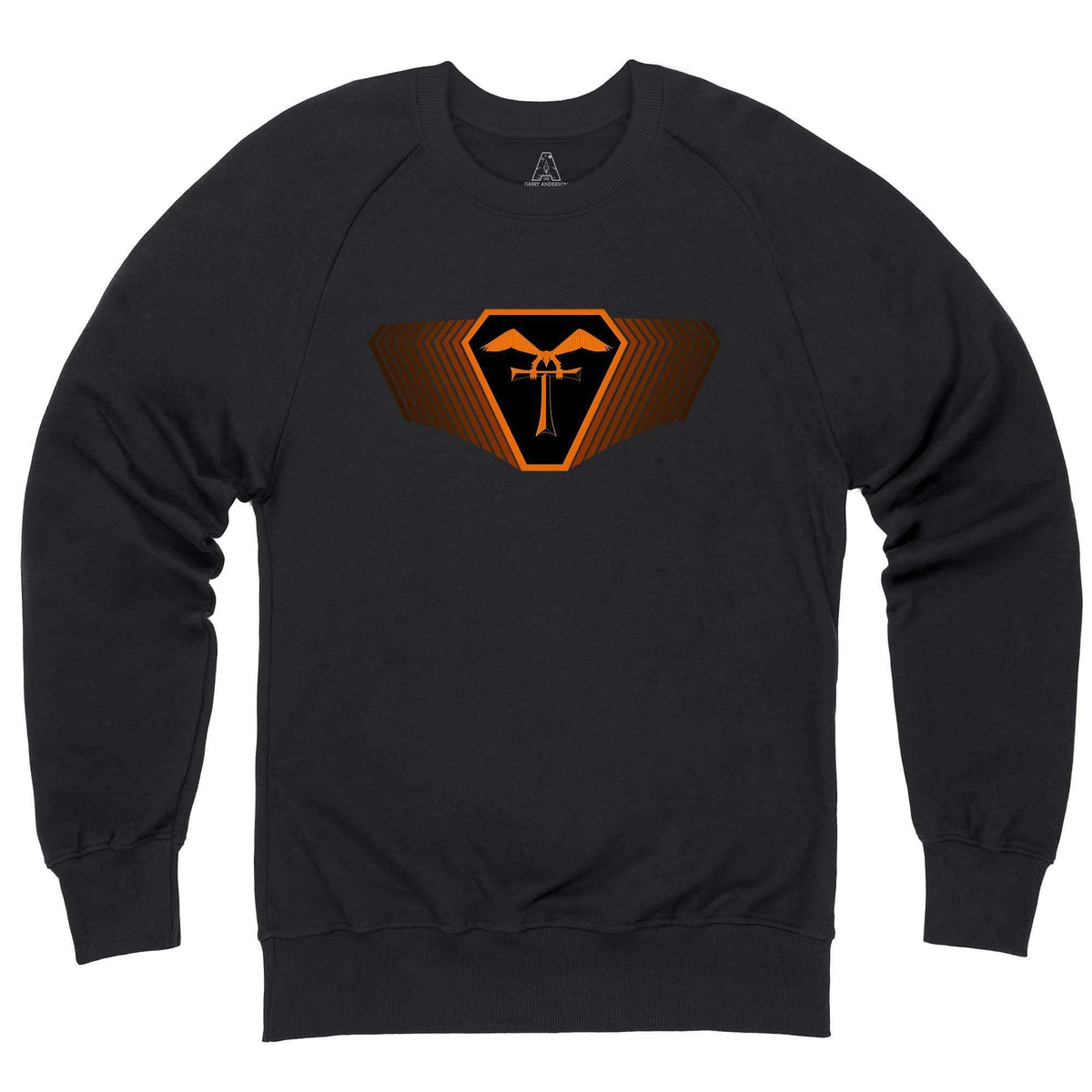 Terrahawks Orange Emblem Sweatshirt [Official & Exclusive] - The Gerry Anderson Store