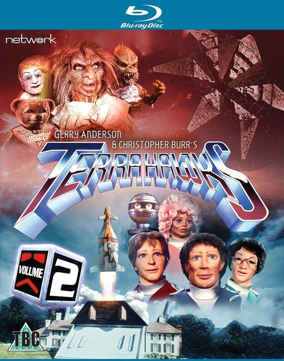 Terrahawks Volume 2: Episodes 14-26 (2 Blu-ray [HD] or 2 DVD Set)(Region ABC & 0 PAL) - The Gerry Anderson Store