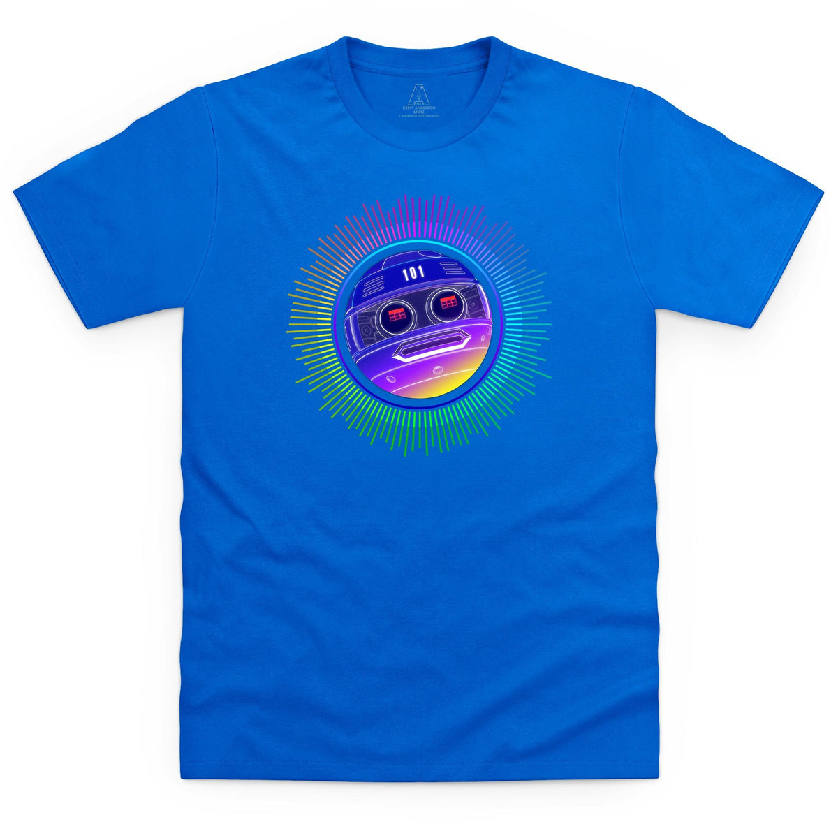 Terrahawks Zeroid Neon Men's T-Shirt [Official & Exclusive] - The Gerry Anderson Store