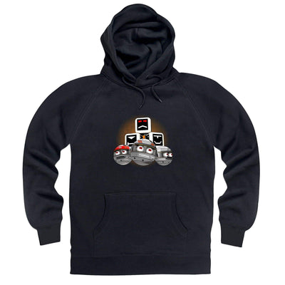 Terrahawks Zeroids and Cubes Design Hoodie [Official & Exclusive] - The Gerry Anderson Store