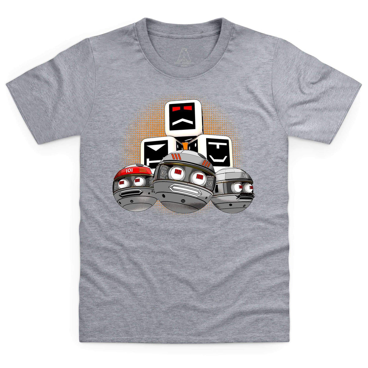 Terrahawks Zeroids & Cubes Design Kid's T-Shirt [Official & Exclusive] - The Gerry Anderson Store