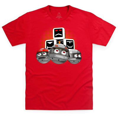 Terrahawks Zeroids & Cubes Design Men's T-Shirt [Official & Exclusive] - The Gerry Anderson Store