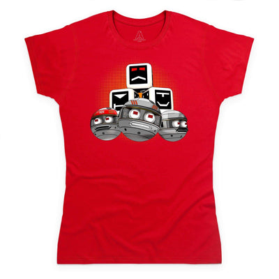 Terrahawks Zeroids & Cubes Design Women's T-Shirt [Official & Exclusive] - The Gerry Anderson Store