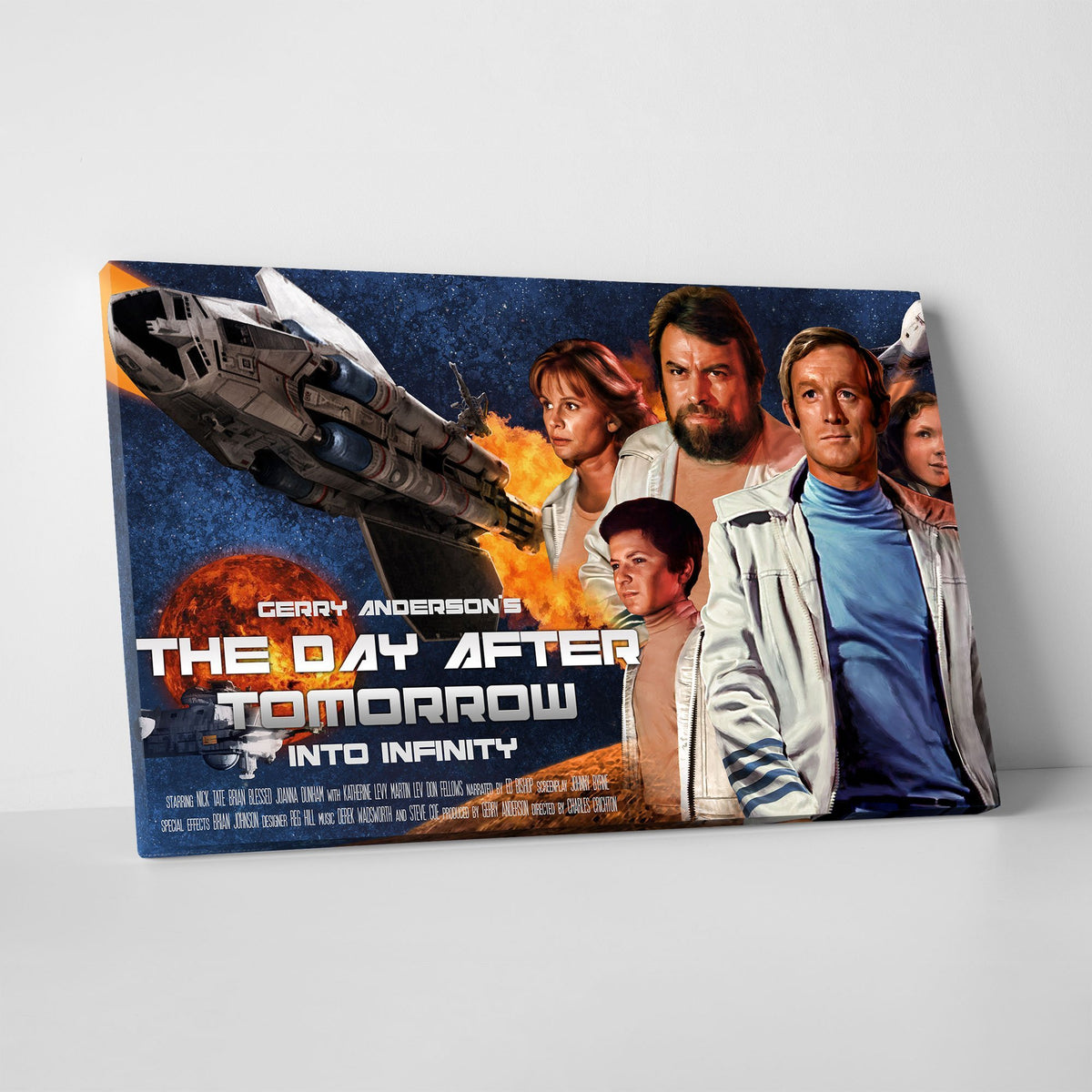 The Day After Tomorrow/ Into Infinity Canvas Print [Official and Exclusive] - The Gerry Anderson Store