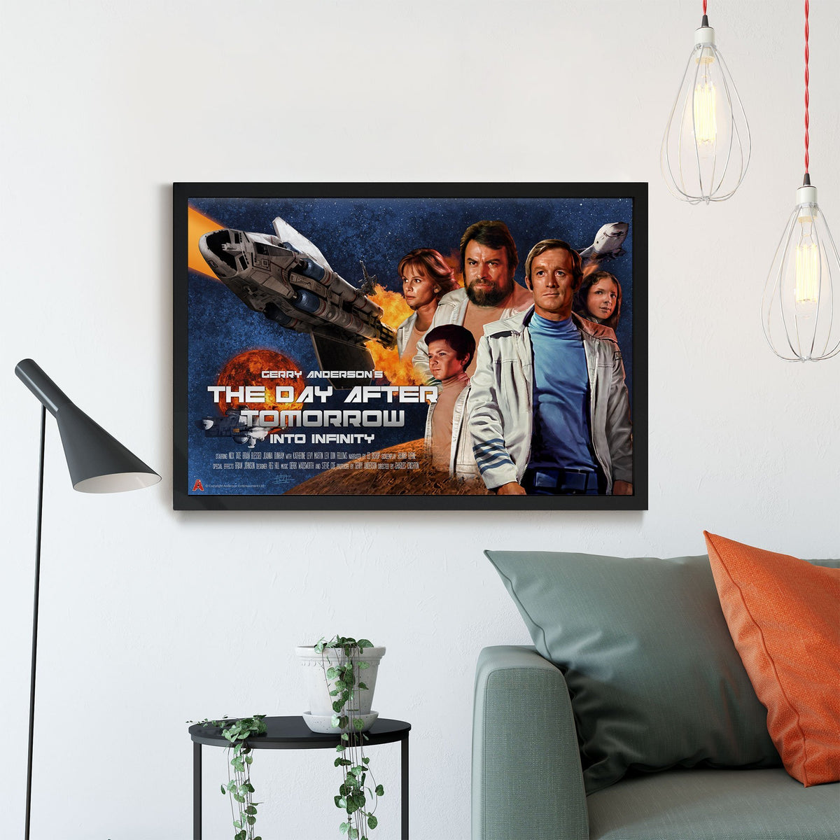 The Day After Tomorrow/ Into Infinity Framed Print [Official and Exclusive] - The Gerry Anderson Store