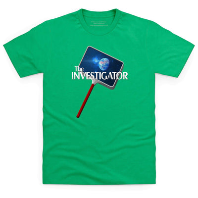 The Investigator Kid's T-Shirt [Official & Exclusive] - The Gerry Anderson Store
