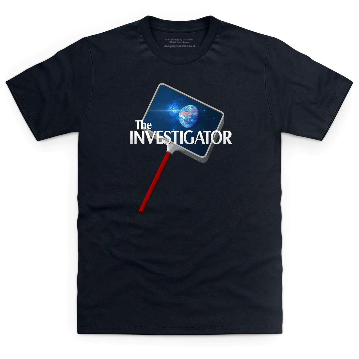 The Investigator Men's T-Shirt [Official & Exclusive] - The Gerry Anderson Store