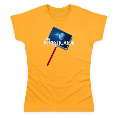 The Investigator Women's T-Shirt [Official & Exclusive] - The Gerry Anderson Store