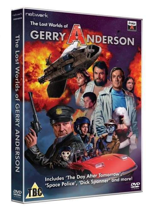 The Lost Worlds of Gerry Anderson - 2 DVD Set (Region 0, PAL release) - The Gerry Anderson Store