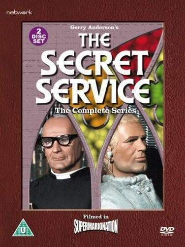 The Secret Service - Complete Series [DVD](Region 2) - The Gerry Anderson Store