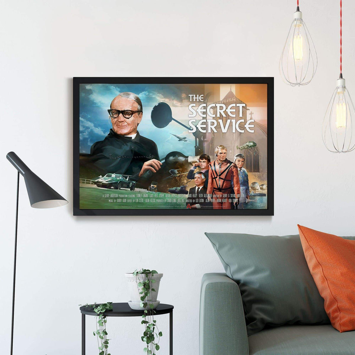 The Secret Service Framed Print [Official & Exclusive] - The Gerry Anderson Store
