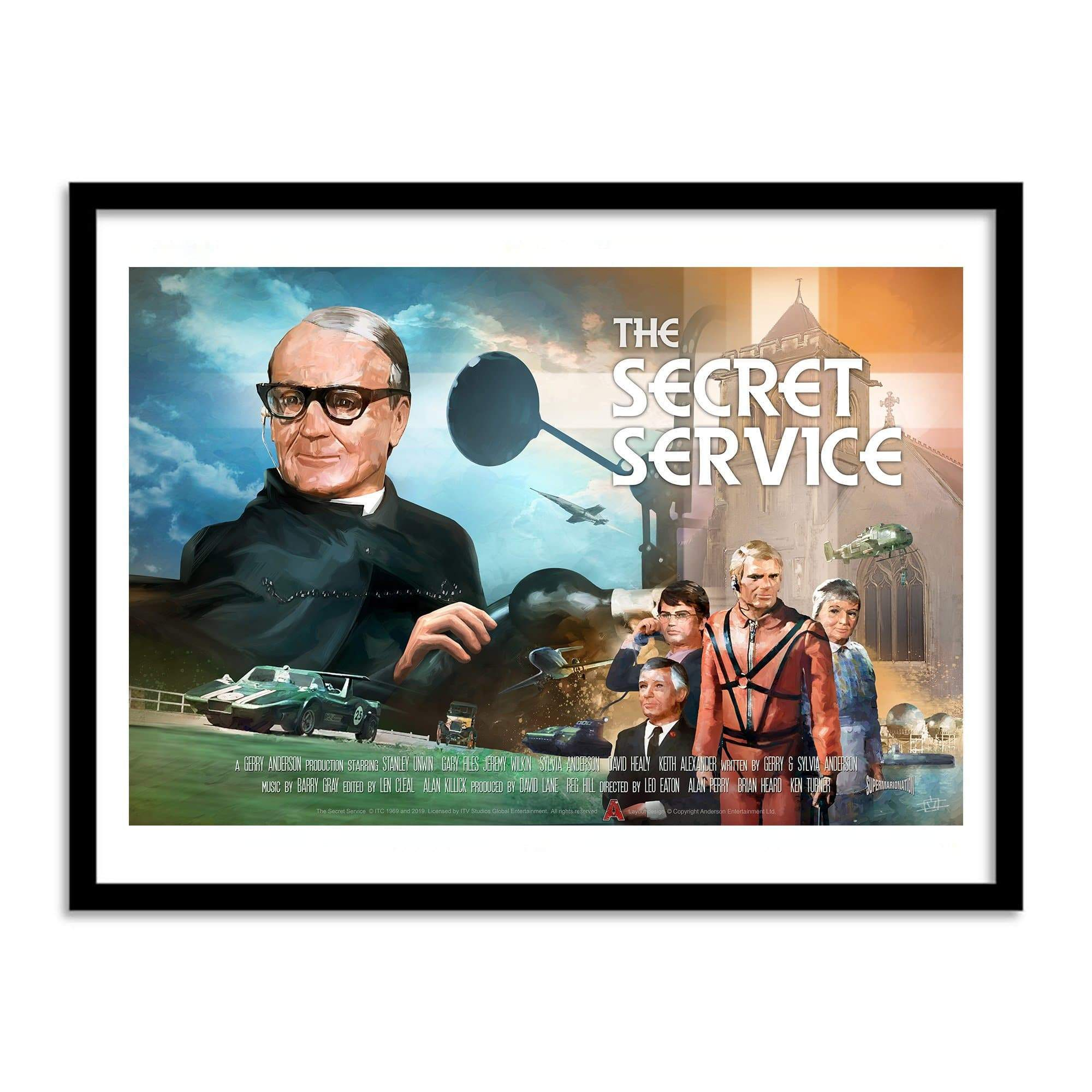 The Secret Service Poster [Official & Exclusive] - The Gerry Anderson Store