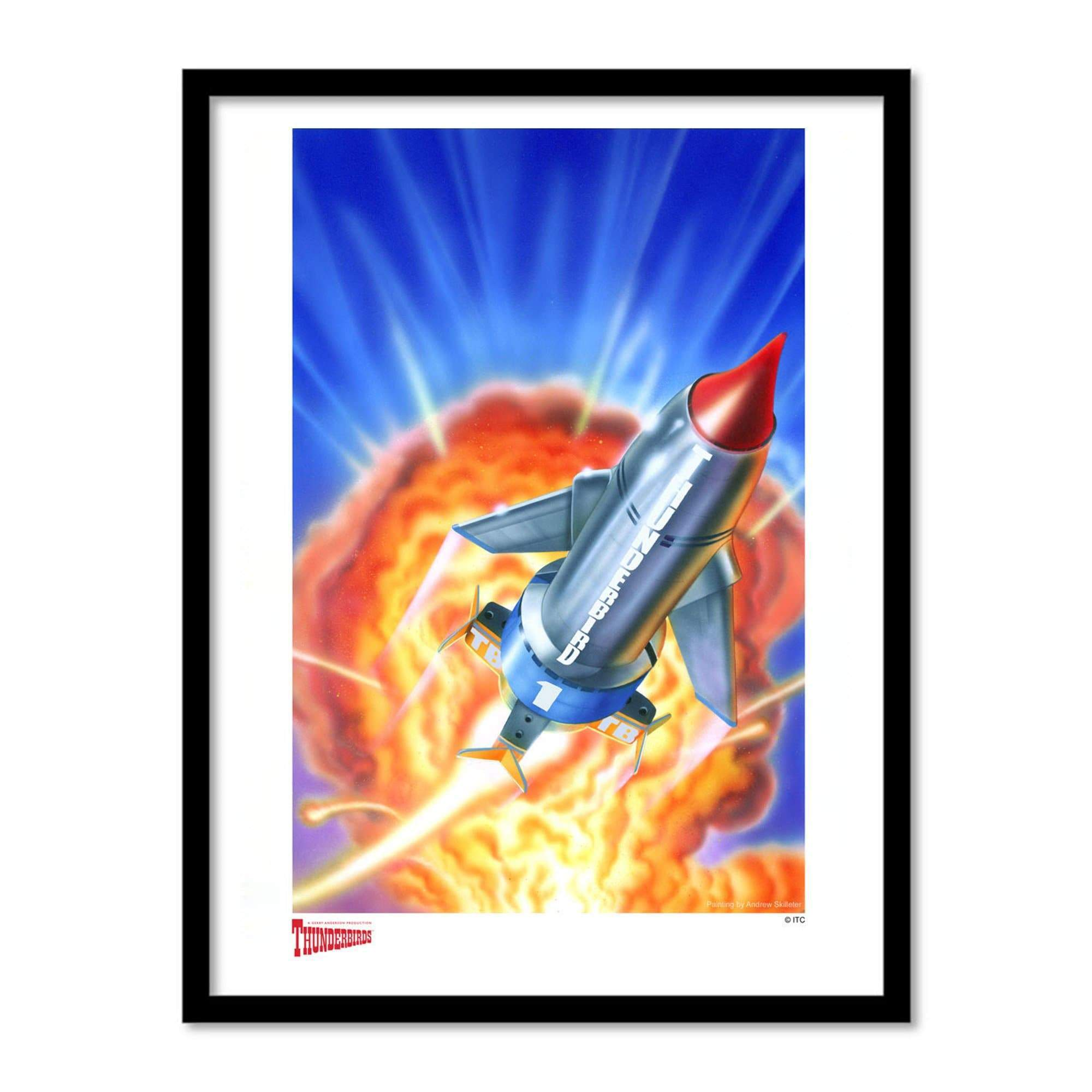 Thunderbird 1 Artist Signed Print (Official & Exclusive] - The Gerry Anderson Store