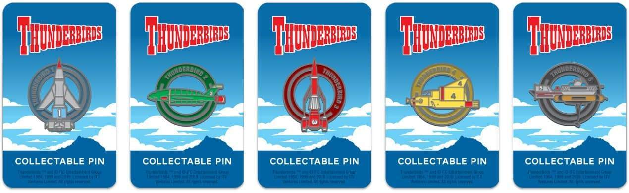 Thunderbird 1 Enamel Pin Badge by Florey - The Gerry Anderson Store
