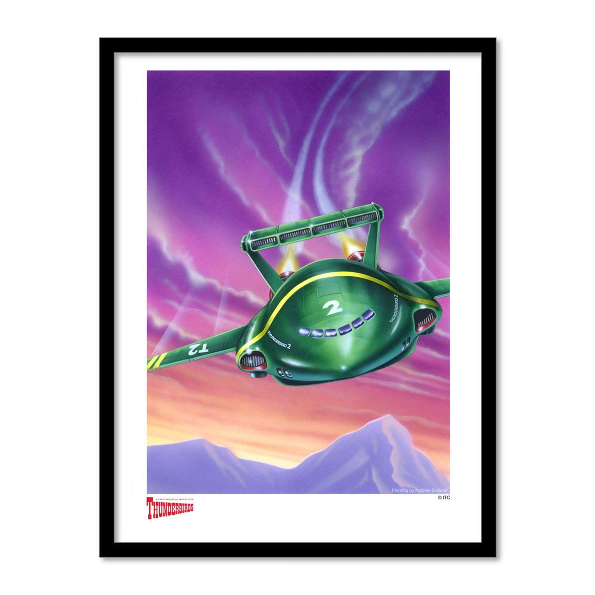 Thunderbird 2 Artist Signed Print (Official & Exclusive] - The Gerry Anderson Store