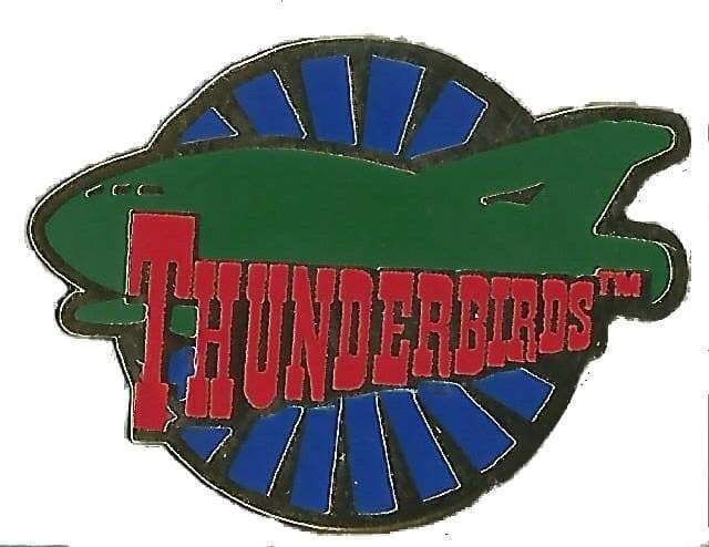 Thunderbird 2 Enamel Pin Badge - The Gerry Anderson Store