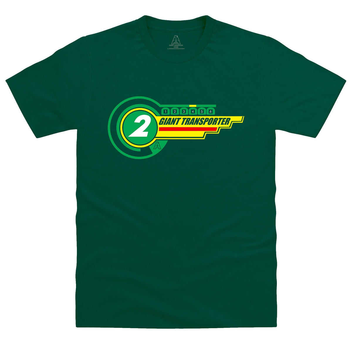 Thunderbird 2 Inspired Men's T-Shirt - The Gerry Anderson Store