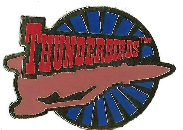 Thunderbird 3 Enamel Pin Badge - The Gerry Anderson Store