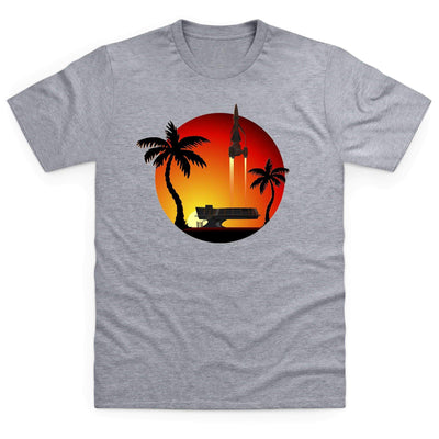 Thunderbird 3 Sunset Men's T-Shirt [Official & Exclusive] - The Gerry Anderson Store
