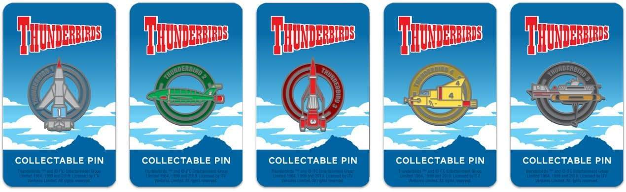 Thunderbird 4 Enamel Pin Badge by Florey - The Gerry Anderson Store