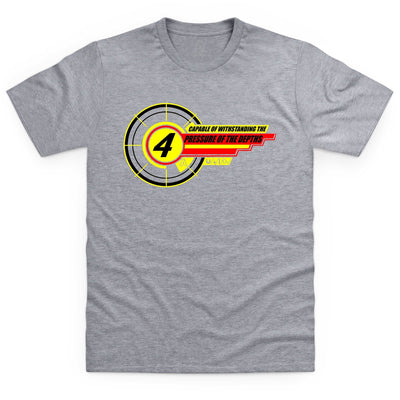 Thunderbird 4 Inspired Kid's T-Shirt - The Gerry Anderson Store