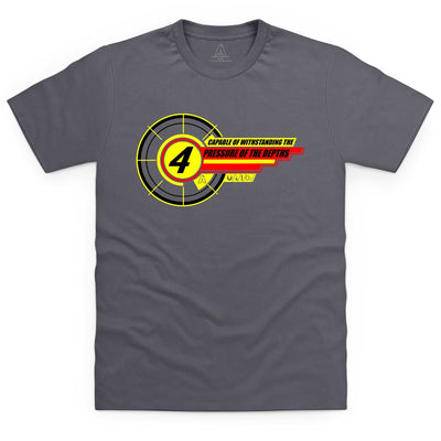 Thunderbird 4 Inspired Men's T-Shirt - The Gerry Anderson Store
