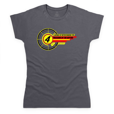 Thunderbird 4 Inspired Women's T-Shirt - The Gerry Anderson Store