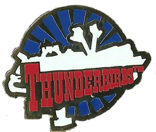 Thunderbird 5 Enamel Pin Badge - The Gerry Anderson Store
