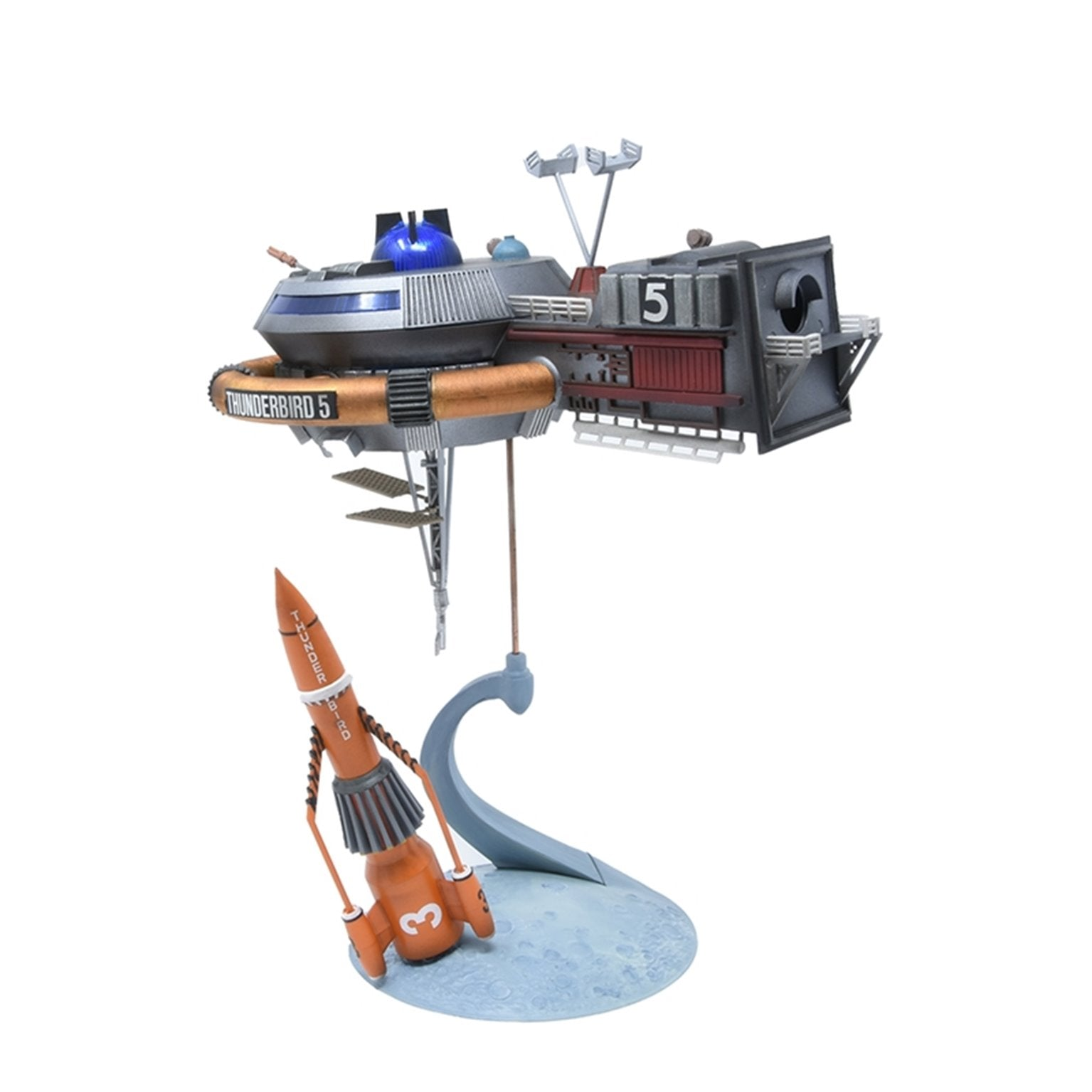 Thunderbird 5 with Thunderbird 3 Model Kit - The Gerry Anderson Store