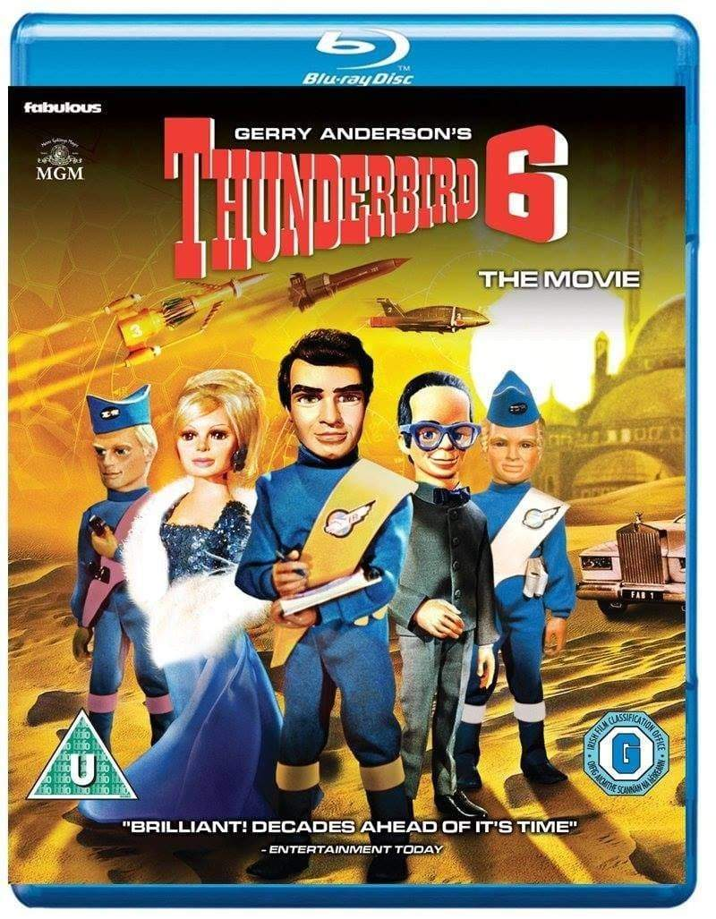 Thunderbird 6 - The Movie [Blu-Ray](Region B) - The Gerry Anderson Store