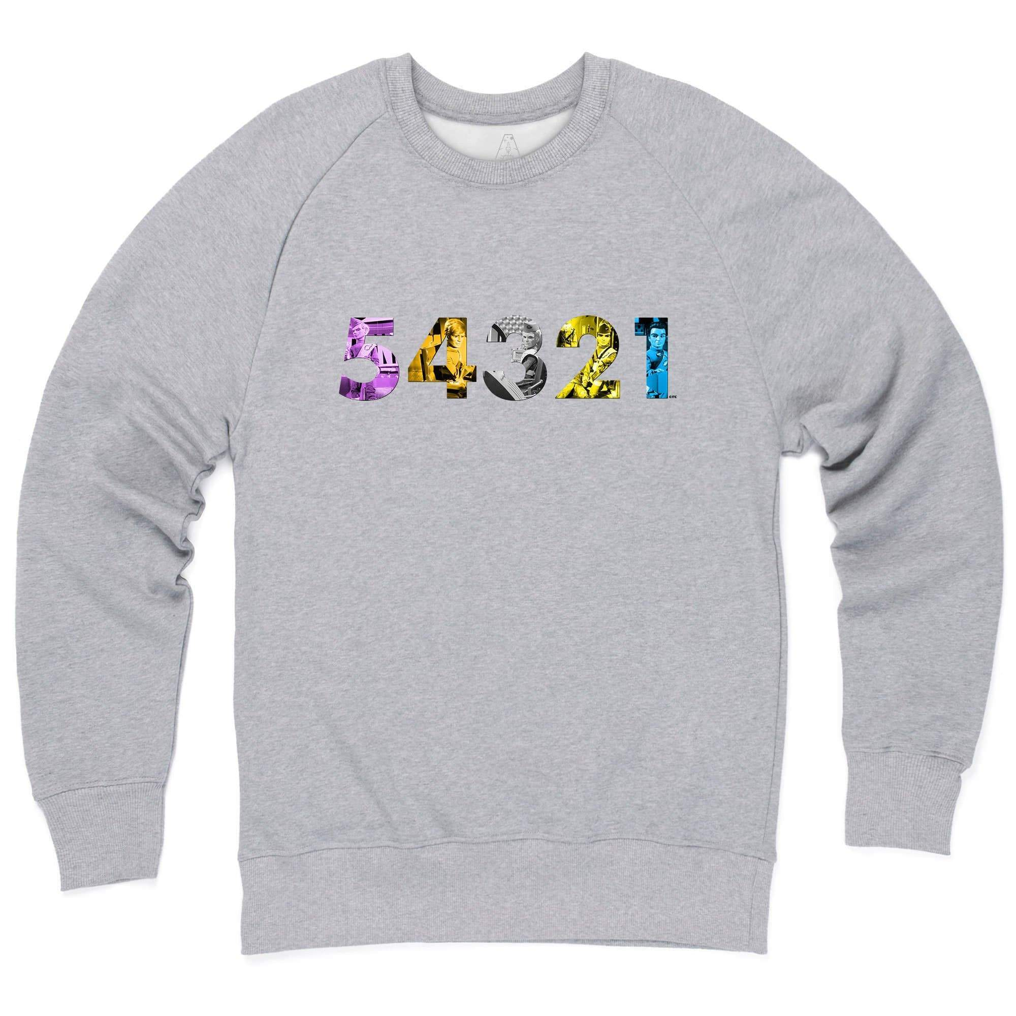 Thunderbirds 54321 Sweatshirt [Official & Exclusive] - The Gerry Anderson Store