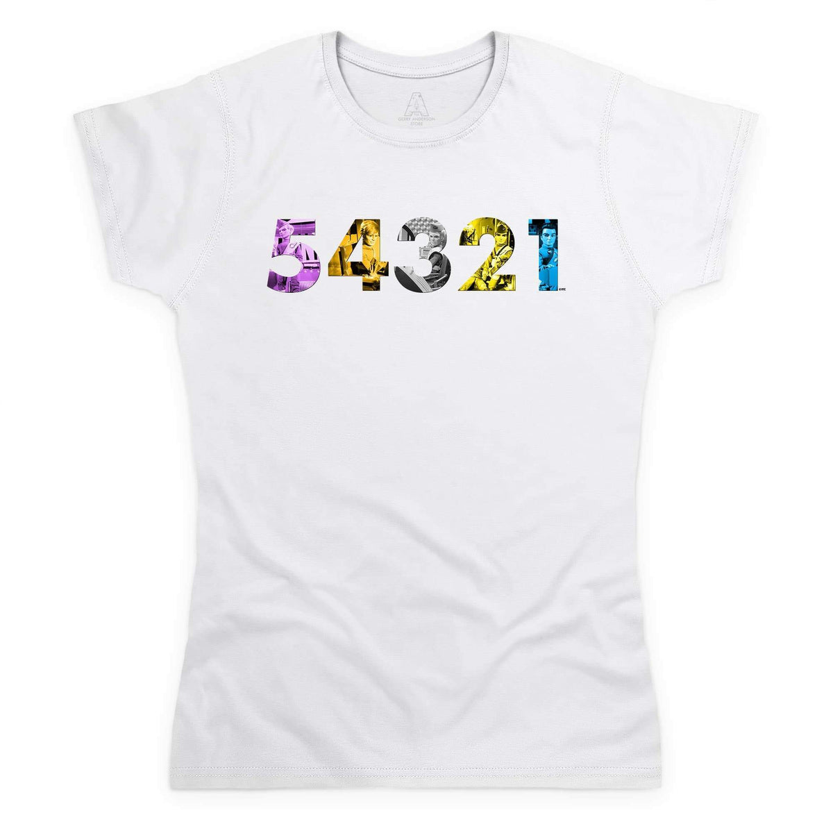 Thunderbirds 54321 Women's T-Shirt [Official & Exclusive] - The Gerry Anderson Store