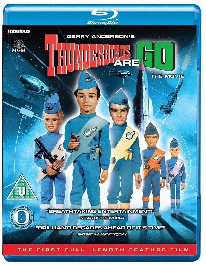 Thunderbirds Are GO! - The Movie [Blu-ray] (Region B) - The Gerry Anderson Store