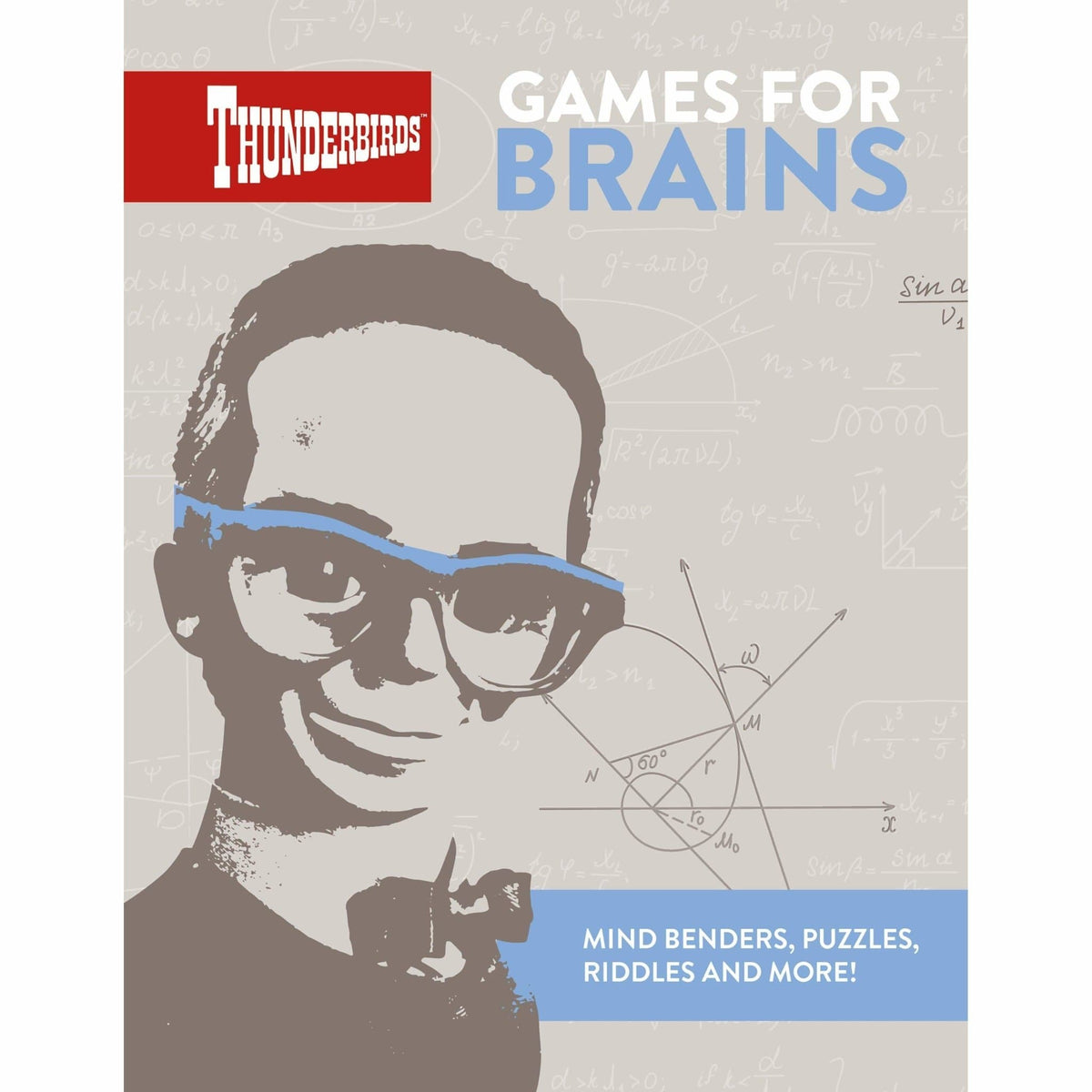 Thunderbirds Brains Puzzle Book - The Gerry Anderson Store