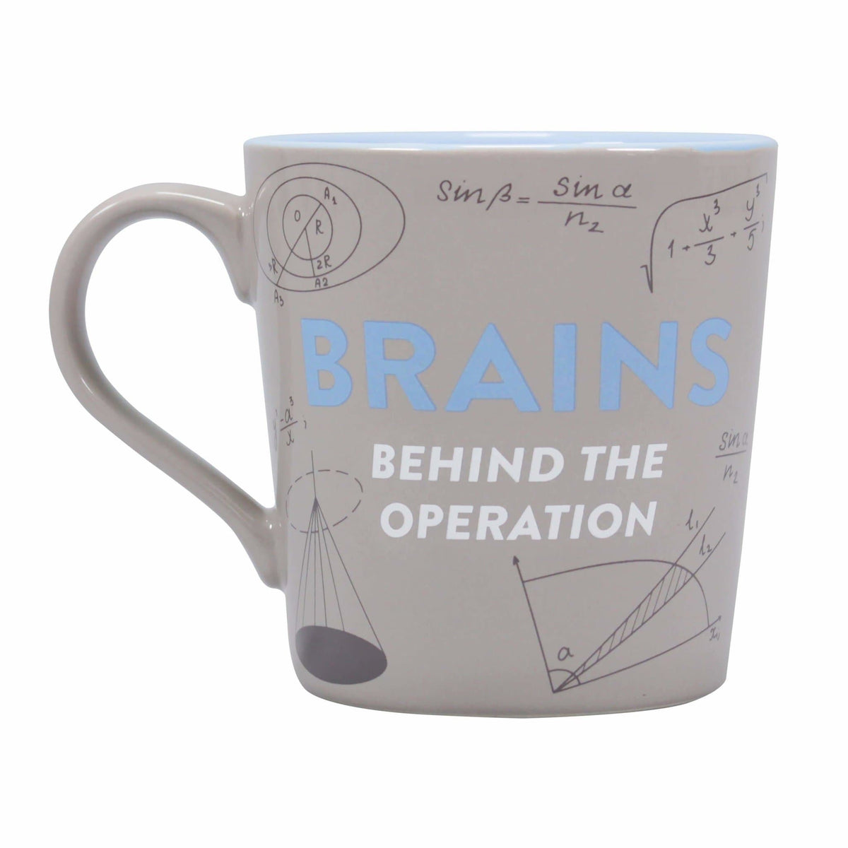 Thunderbirds Brains Tapered Mug - The Gerry Anderson Store