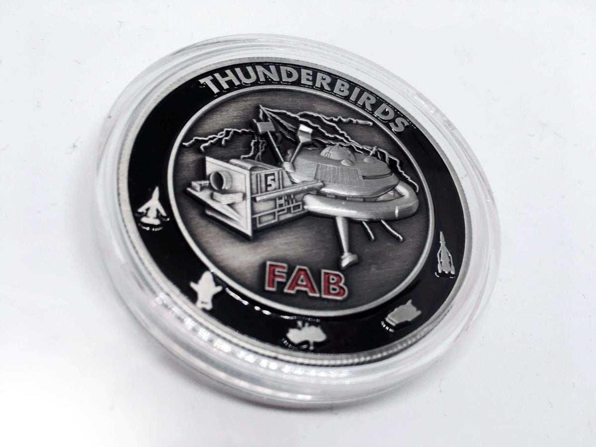 Thunderbirds Challenge Coins - The Gerry Anderson Store