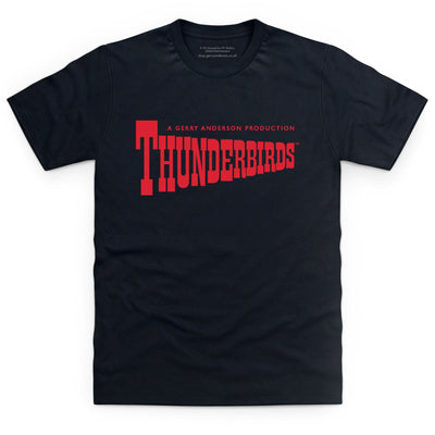 Thunderbirds Classic Logo Men's T-Shirt [Official & Exclusive] - The Gerry Anderson Store