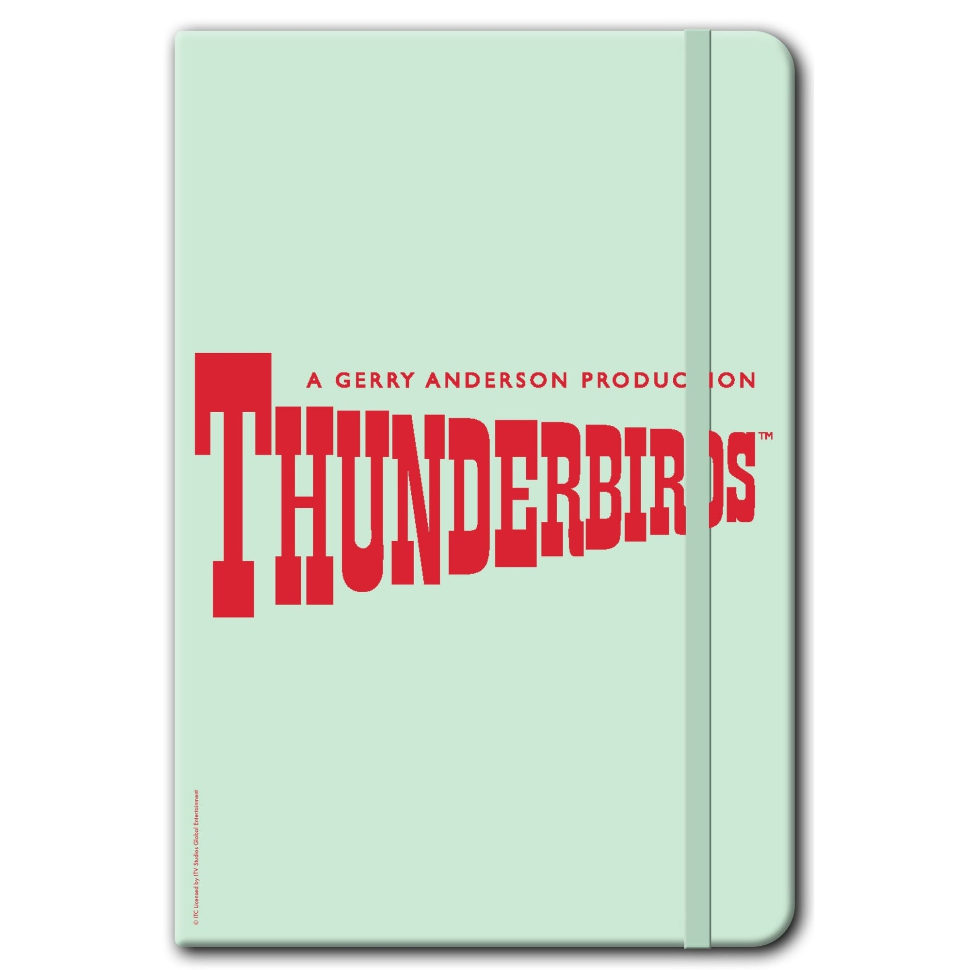 Thunderbirds Classic Logo Notebook [Official & Exclusive] - The Gerry Anderson Store
